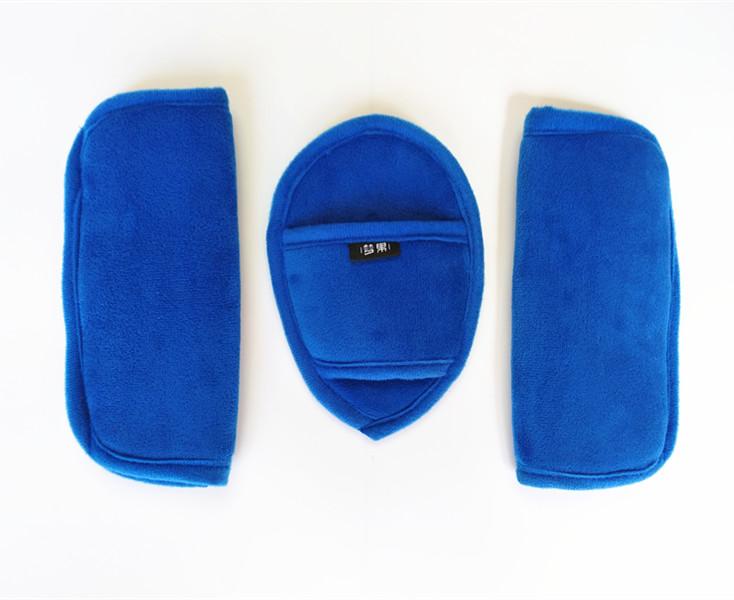 婴儿推车安全带护肩护裆安全座椅提篮餐椅护裆护肩用防磨保护垫子