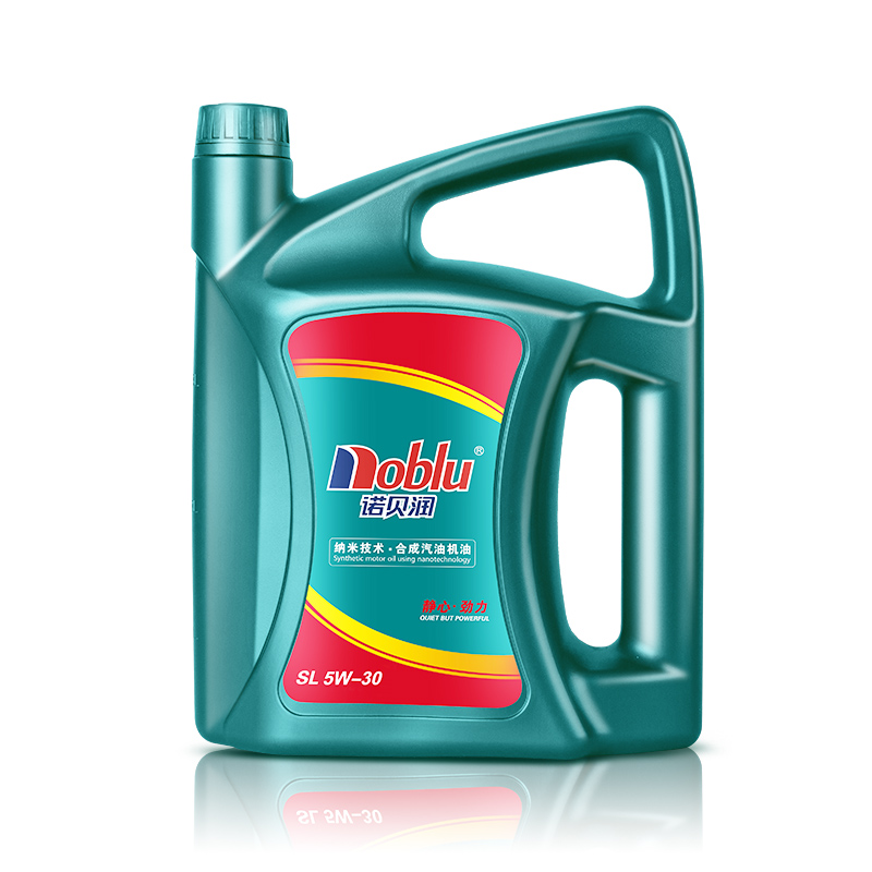 诺贝润合成机油SL5W30汽油机油发动机润滑油正品面包车润滑油4L