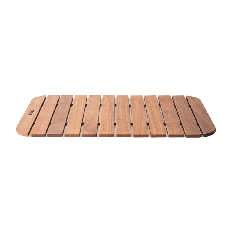 50L 无印良品 RISU DOD 什良商店黑胡桃实木收纳箱盖板桌板折叠便携