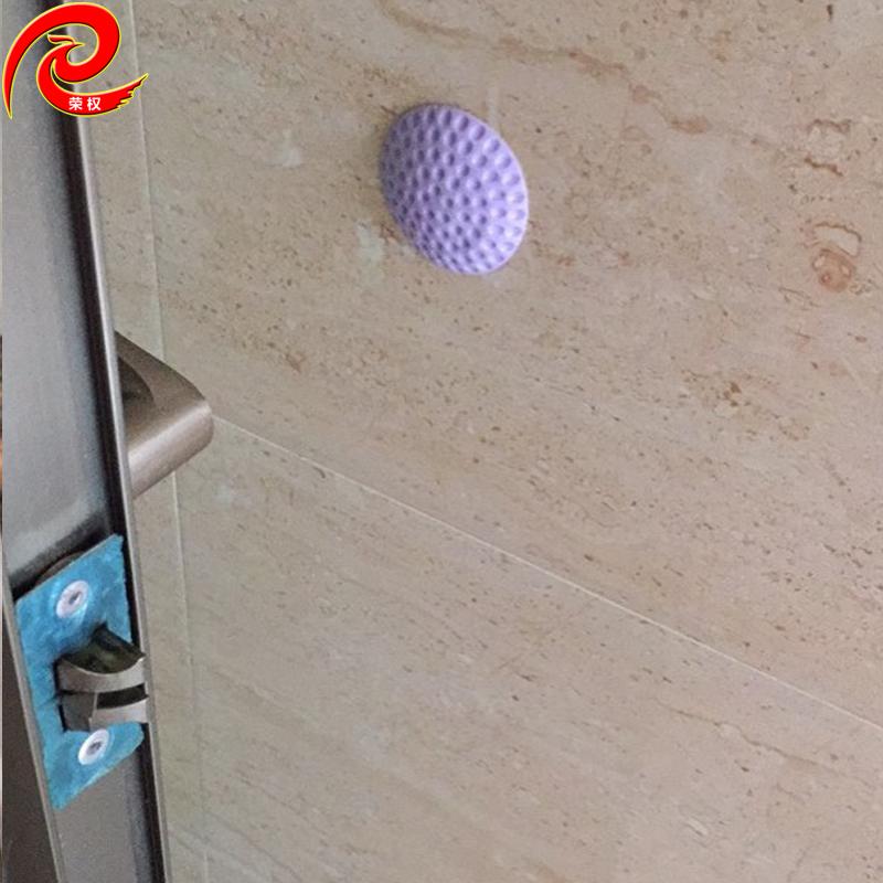 自粘家具门把手防撞垫后贴墙面橱柜门防撞胶粒加厚门把手防撞贴垫