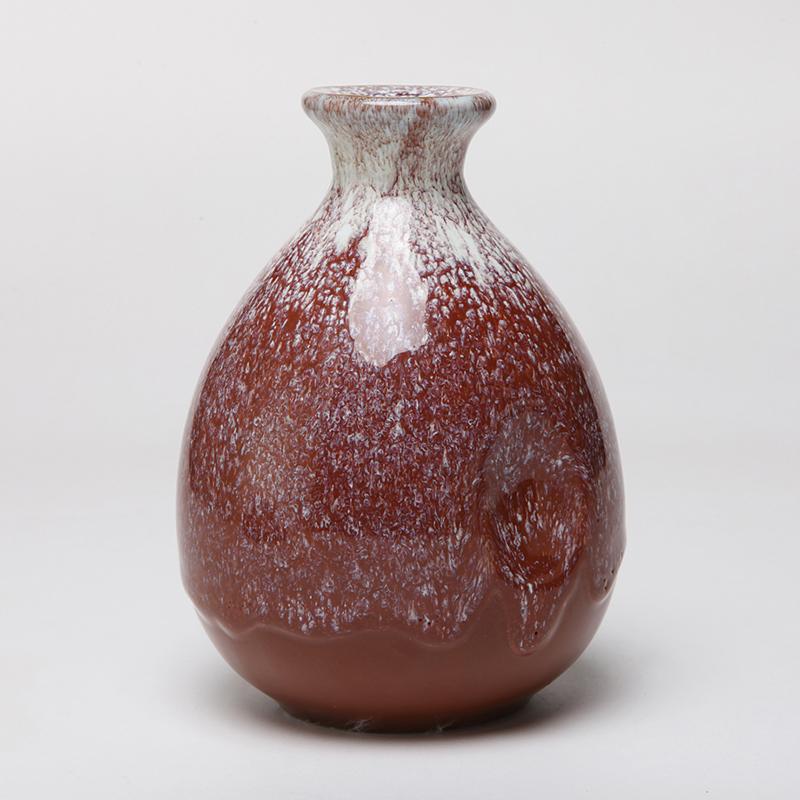 古苑1斤装500ml宜兴窑变婚庆酒瓶酒坛手抓瓶可做花器陶瓷摆件陶罐