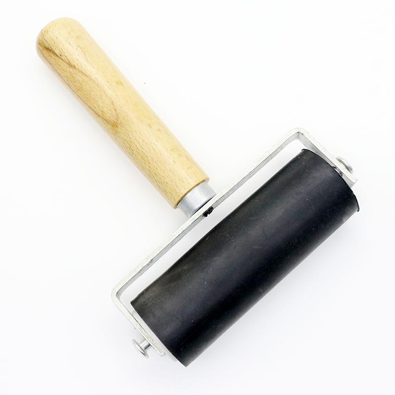 5个包邮版画滚筒 大号画胶辊 橡胶滚轮 油墨油滚油印滚 版画工具