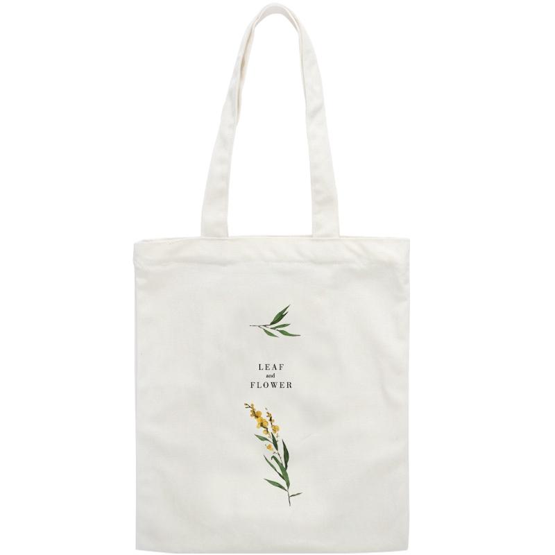 INS  文艺小清新学生韩版包包布袋女 chic 2018 新款 单肩帆布包布袋包