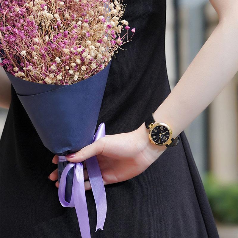 【9月新款】美国天美时timex女士手表轻奢小众高贵宴会TWEL11802
