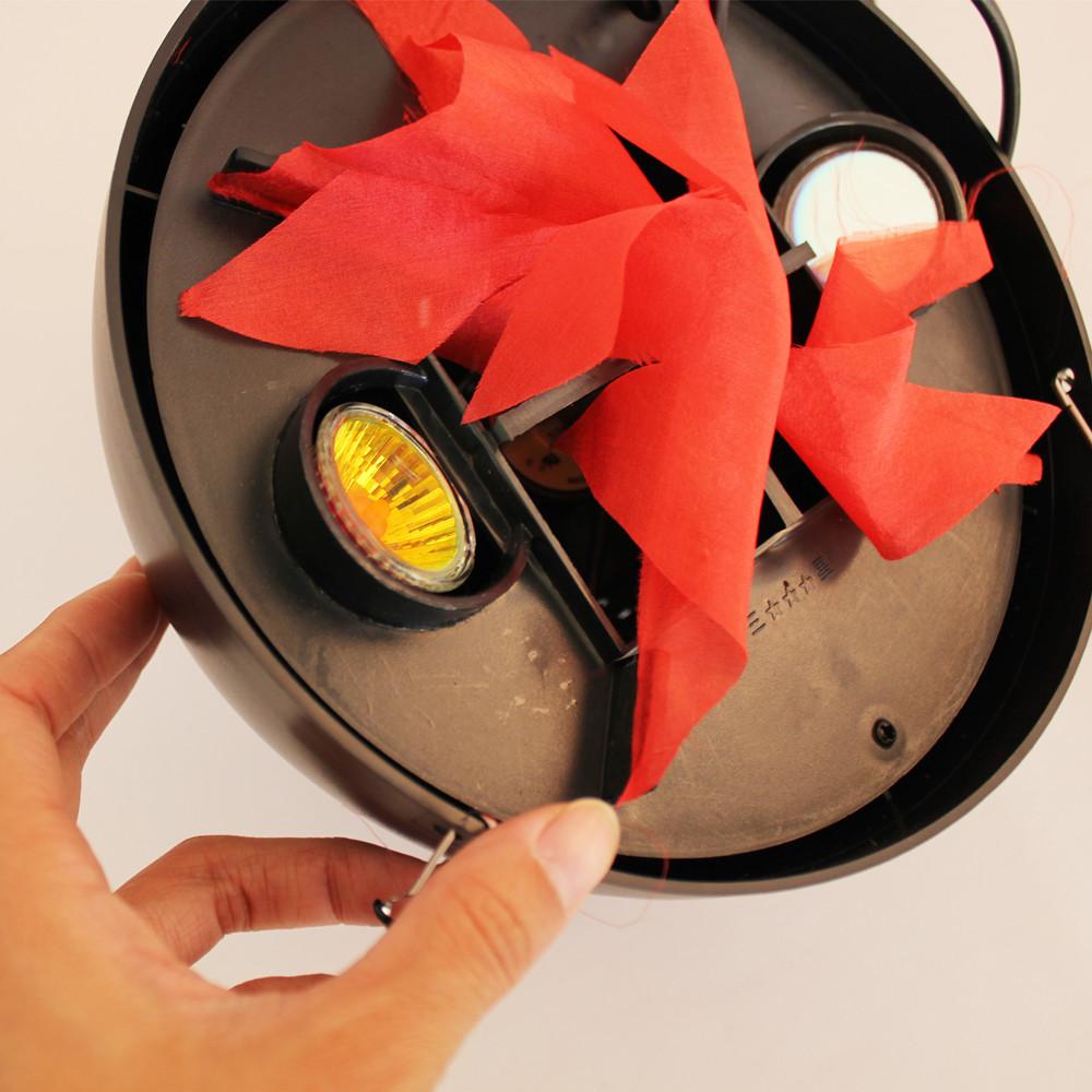 万圣节装饰立台式火盆灯吊灯灯具吊式仿真火焰灯电子挂式火盆灯