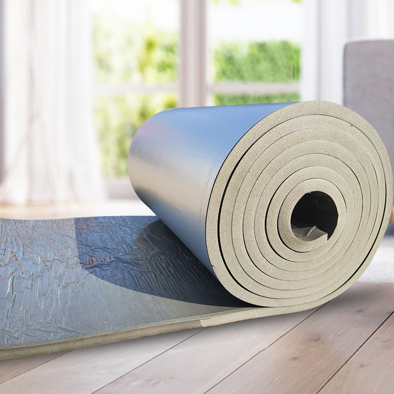 橡塑隔热板耐高温隔热材料屋顶防晒防水阳光房顶隔热棉楼顶保温棉
