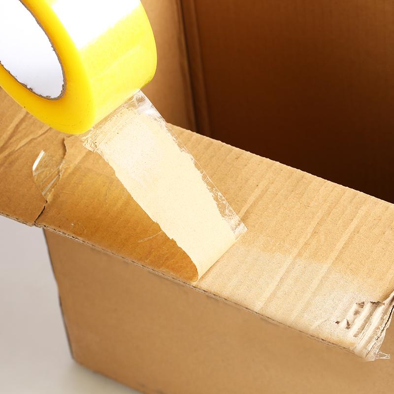透明胶带5.5宽6cm封口胶布淘宝封箱大卷快递打包装胶带纸整箱定制
