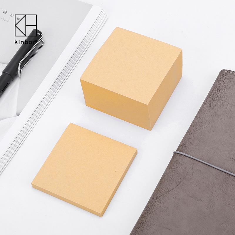 kinbor便签纸告事贴便文具空白便签本小本子标签贴创意简约便利贴