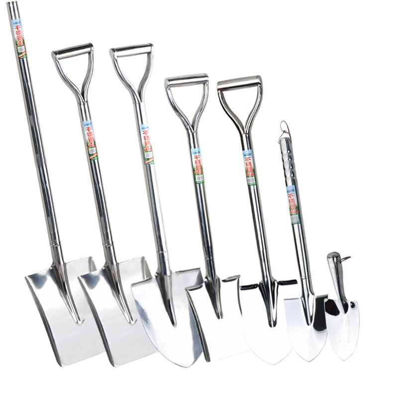 潘易铁铲不锈钢锹铲子种花铲铁锹铁锨园艺