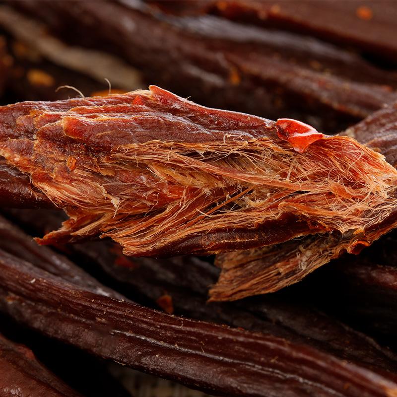 新牧哥内蒙古超干手撕风干牛肉干香辣味特产零食小吃 罐 1 送 1 买