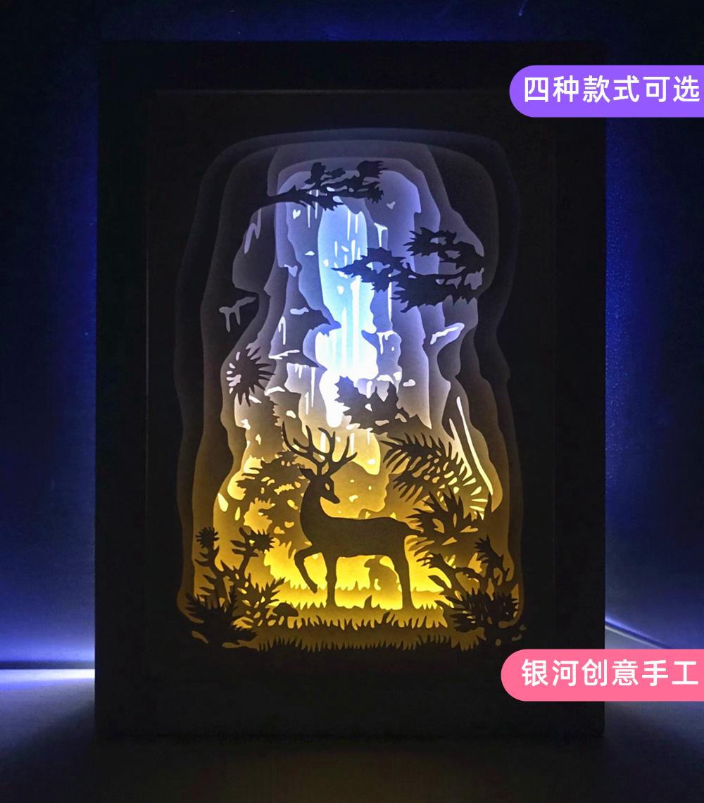 制作材料装饰台灯夜灯