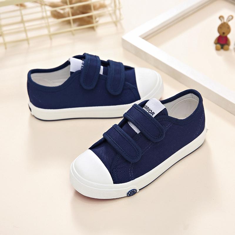 回力童鞋低帮帆布鞋男女童小白鞋学生白色板鞋春款休闲儿童运动鞋