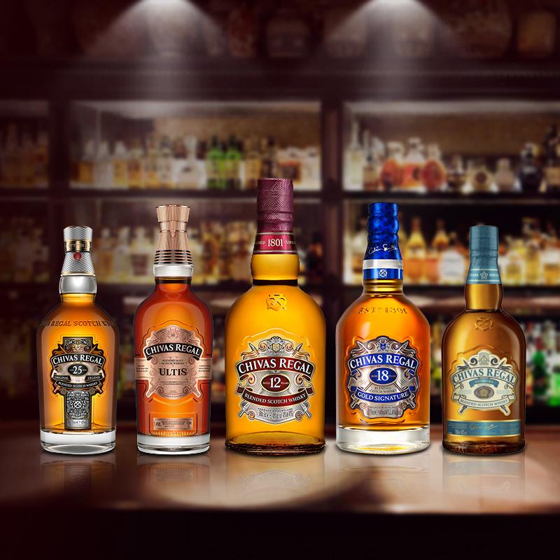 鸡尾酒洋酒烈酒 英国原装进口 瓶 2 500ml 年 12 芝华士威士忌 chivas