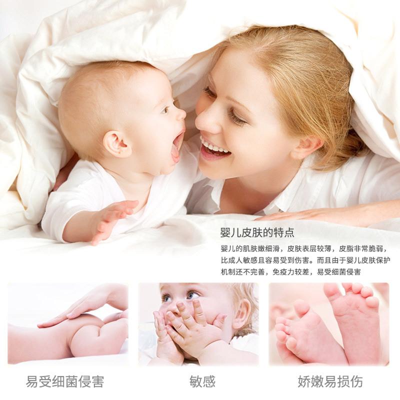 可心柔V9宝宝抽纸婴儿柔纸巾新生儿纸巾40抽5包便携装柔纸巾