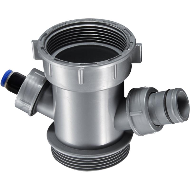 潜水艇厨房洗菜盆下水管配件三通接头净水器小厨宝溢水口排水管