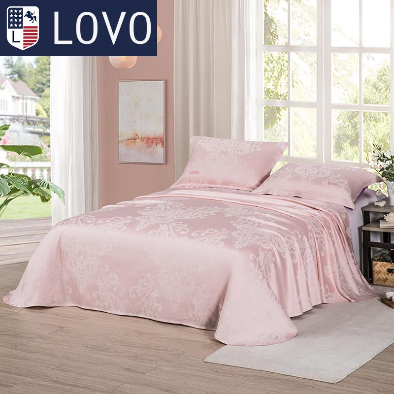 家紡床上用品空調席子夏季雙人涼席竹纖維涼席三件套 LOVO