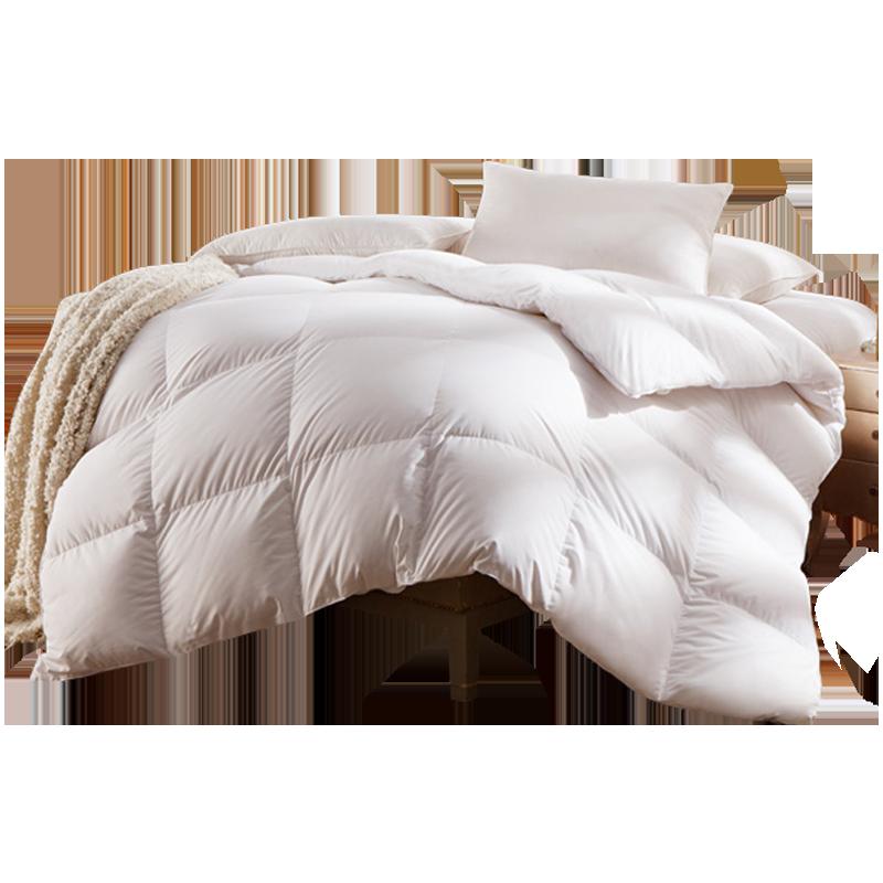 LOVO冬被鸭绒被匈牙利进口白鸭绒被第2代 罗莱生活旗下品牌