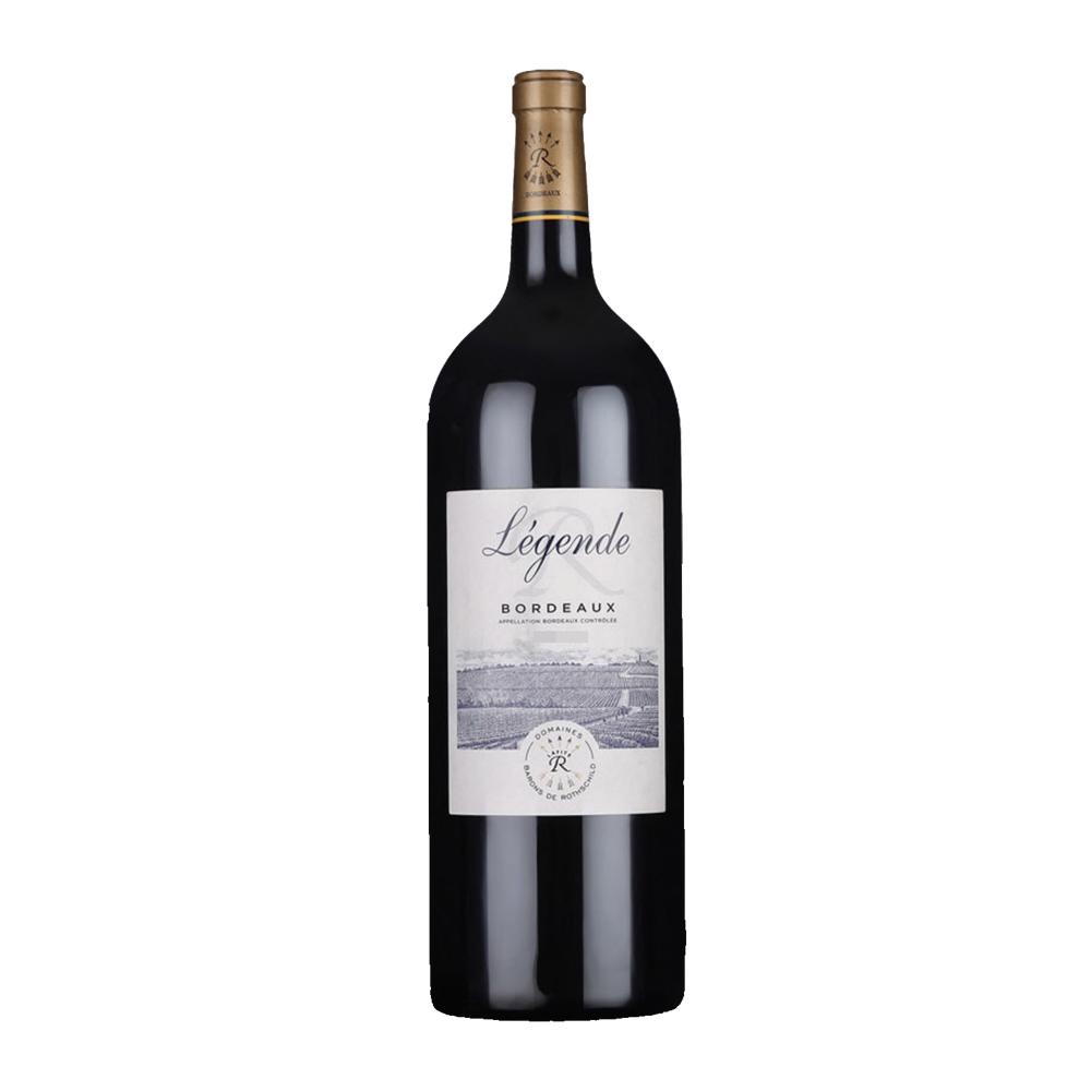 白菜价!法国进口:1.5Lx2瓶 Lafite拉菲 传奇波尔多干红酒葡萄酒 大瓶装