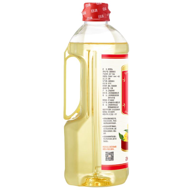 日清清爽健美葵花籽油 900ml+赠100ml/瓶