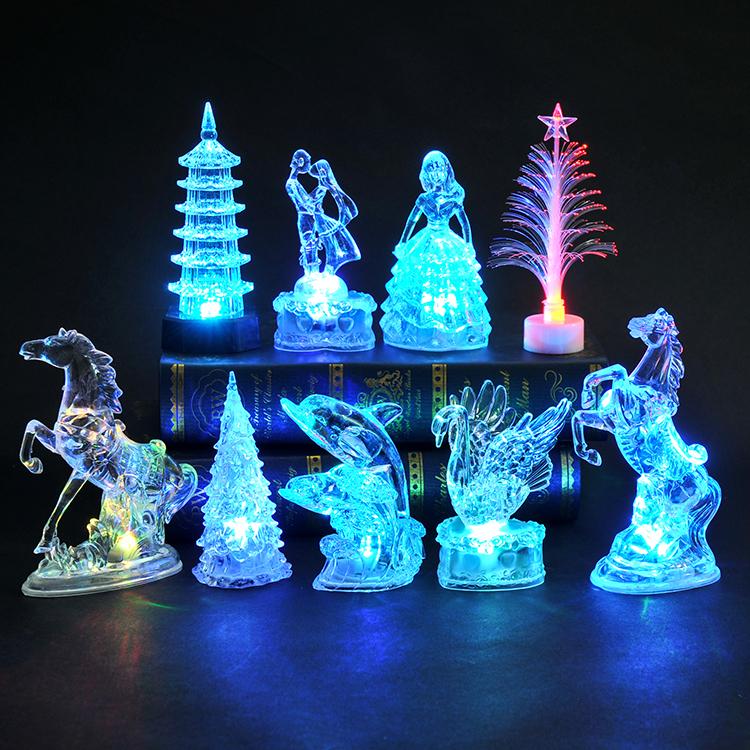 发光小玩具儿童礼物广场套圈小夜灯热卖夜市创意礼品地摊货源批发