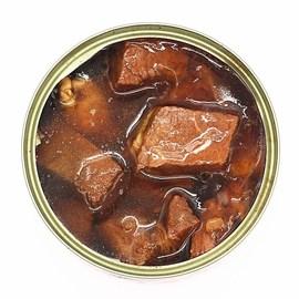 竹岛红烧牛肉罐头6罐装五香即食午餐肉户外速食熟食品肉类制品