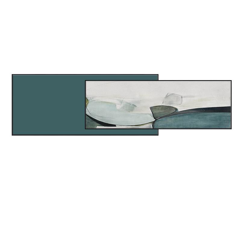 北歐客廳裝飾畫現代簡約墻面大氣抽象壁畫臥室床頭沙發背景墻掛畫