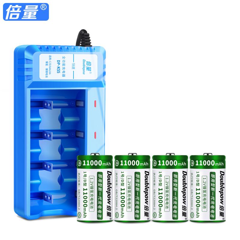 锂干电池器 1.5v 型可代替 D 号充电电池大容量煤气灶热水器大号 1 倍量