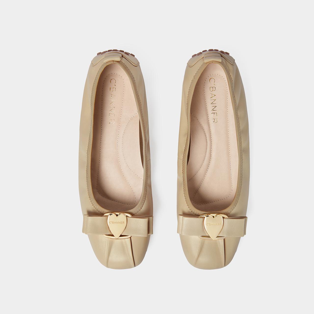 春夏新款女鞋甜美淑女风平底单鞋舒适百搭气质浅口鞋 2021 千百度