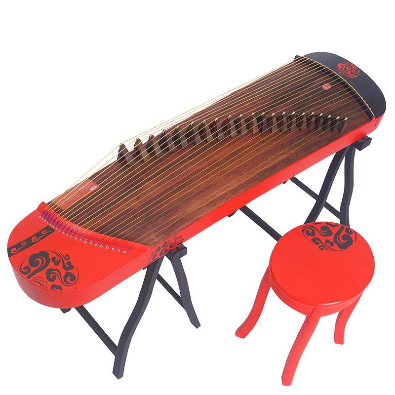 便携式专业考级迷你古筝 128cm U201 祥瑞和鸣 幽韵小古筝 幽韵乐器