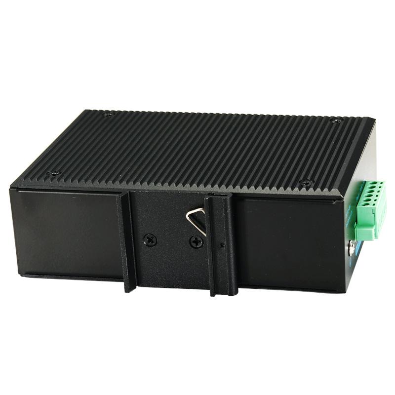 aopre欧柏千兆8口工业以太网交换机T608G导轨式防雷监控耐宽温宽压双供电冗余IP40防尘PLC非网管型分线集线器