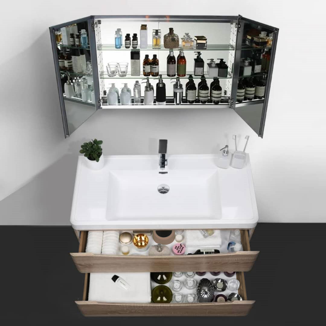 TONA朵纳北欧现代简约浴室柜洗手台盆洗脸面盆柜组合卫生间洗漱台