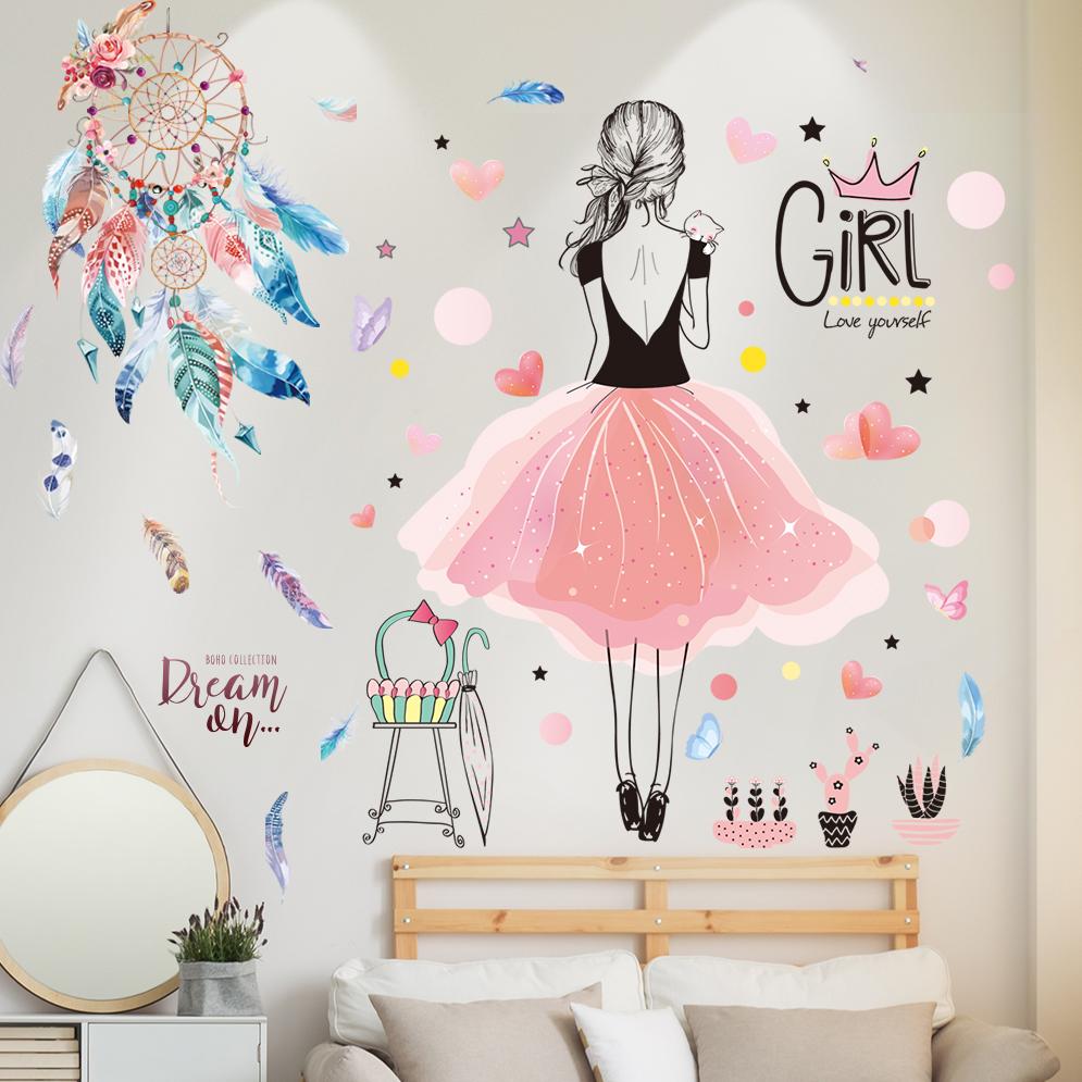 墙纸壁纸自粘墙贴画客厅卧室床头房间墙面墙壁装饰温馨创意3D贴纸