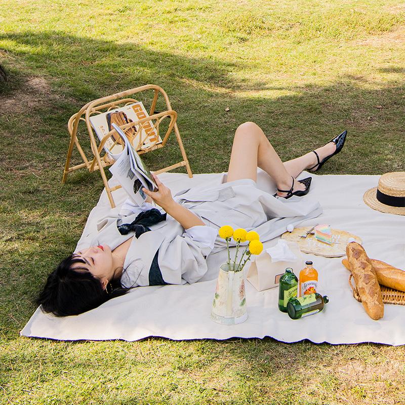 挪客野餐垫户外防潮垫便携防水野炊地垫草坪垫子野餐布 Naturehike