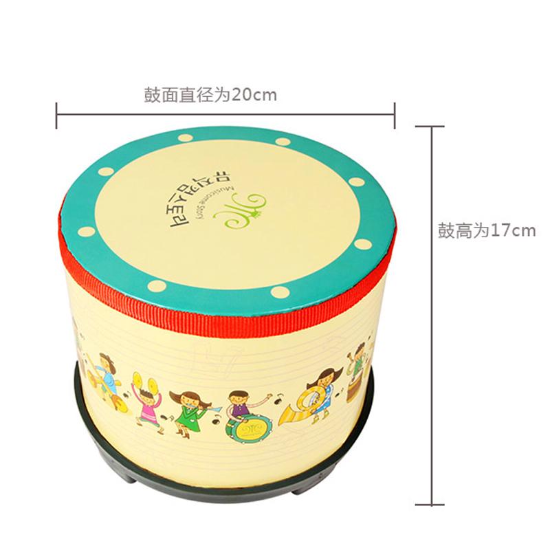 奥尔夫乐器鼓儿童敲鼓打鼓玩具手拍鼓军鼓手鼓打击乐器婴儿宝宝鼓