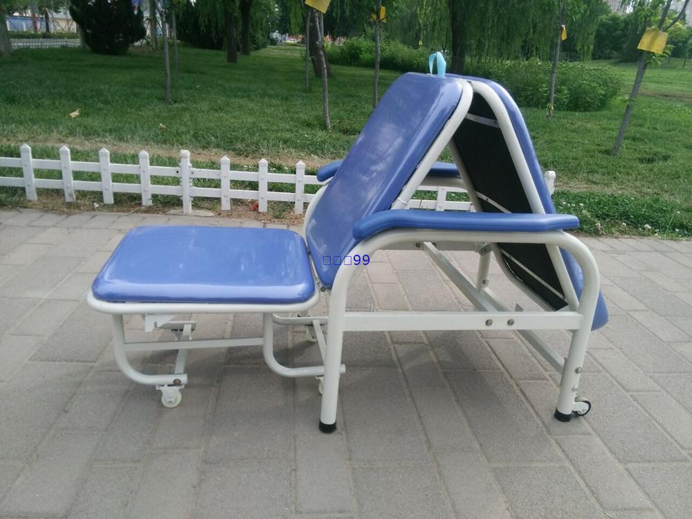新品折叠陪护椅 家用陪护床 午休椅 折叠椅 护理椅子 医院陪护