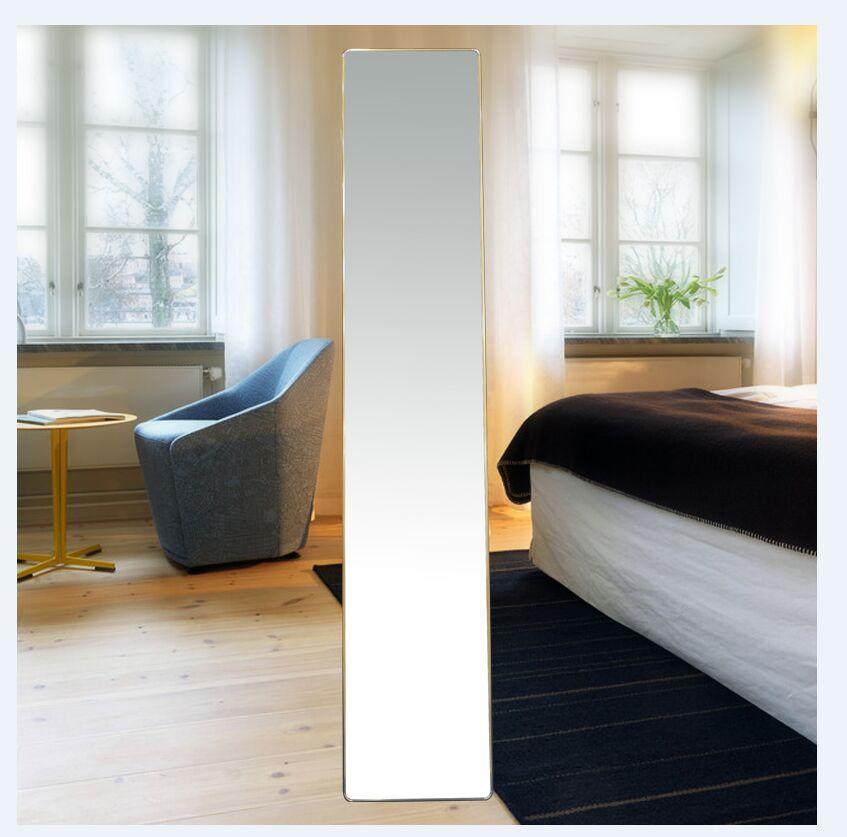 简约穿衣镜全身镜落地镜试衣镜家用镜子ins风宿舍卧室立体镜特价