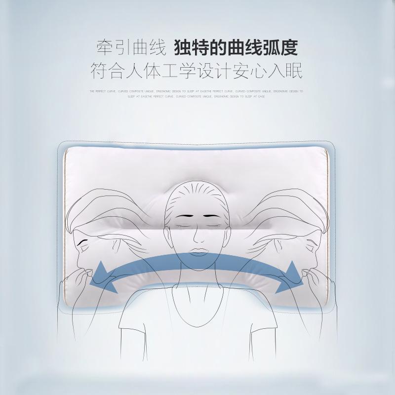 只 2 单人学生柔软护颈枕一对需拍 全棉大豆纤维枕头芯保健低枕矮枕