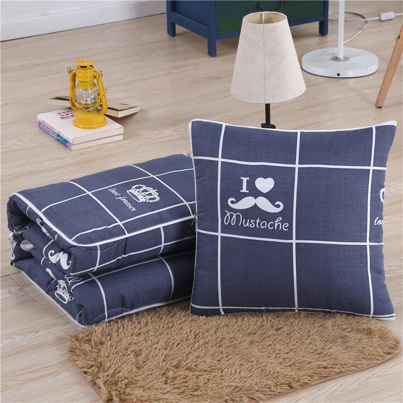 【天天特價】多功能汽車抱枕被子兩用可摺疊靠墊被沙發靠枕午休被