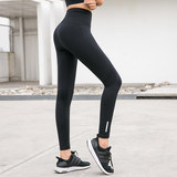 Spring high waist yoga trousers women tight-fitting shaping hips abdomen professional dance fitness sports quick-drying trousers