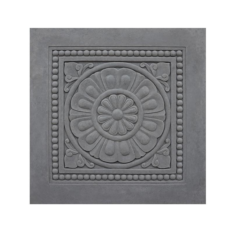 影壁中式仿古青砖地砖雕刻古建装饰砖雕照壁瓷砖浮雕影壁墙面材料