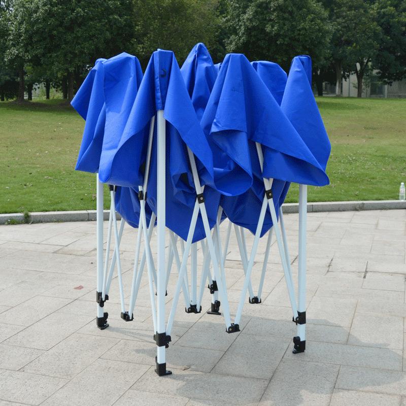 户外遮阳棚防雨广告四脚帐篷大伞车棚子夜市摆摊伸缩雨棚折叠加厚