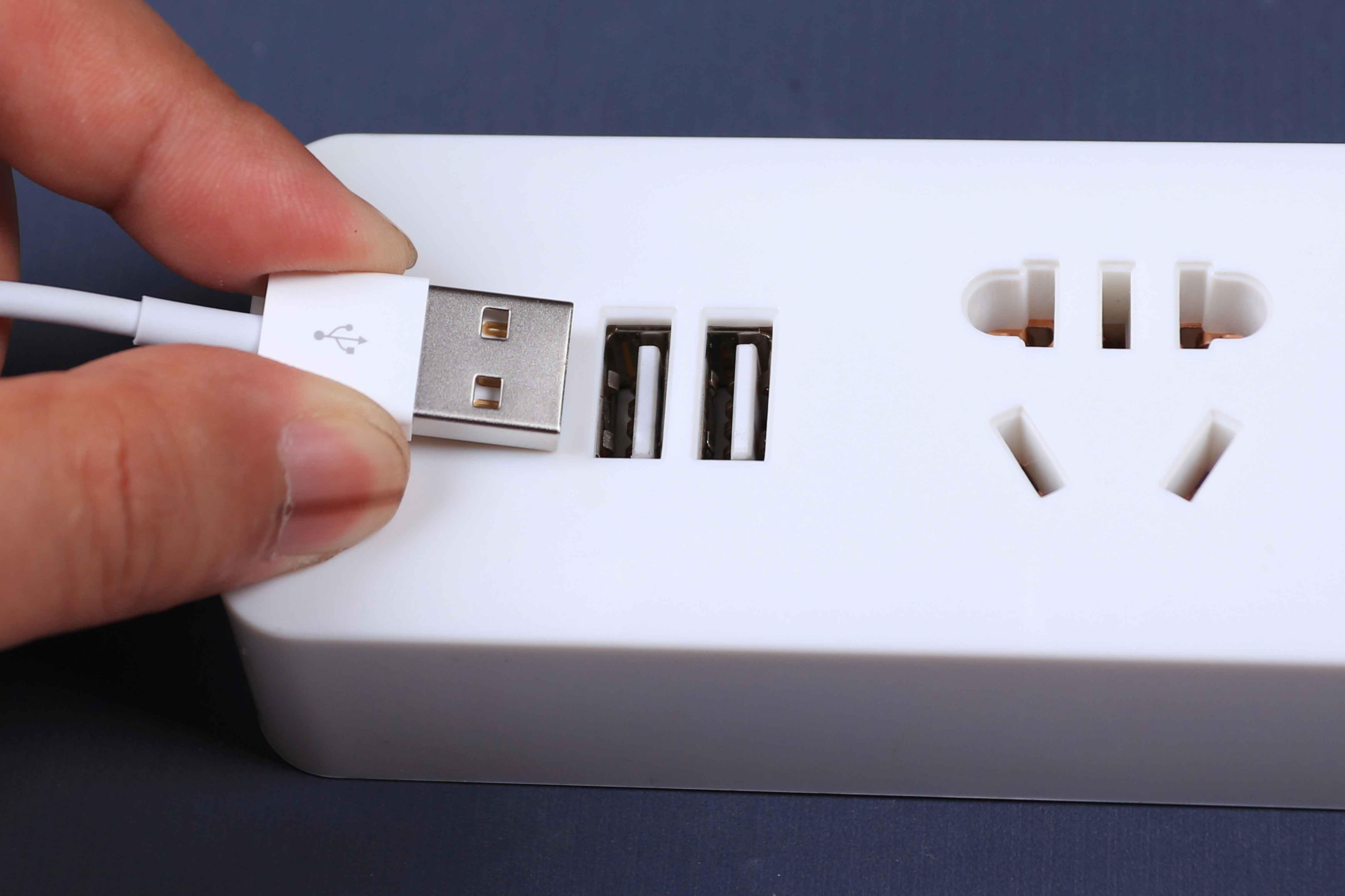 智能家用带线带开关电源插座插排USB手机充电头插线板排插接线板