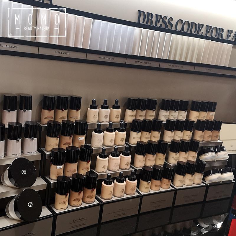 纯净持妆粉底液 设计师 权利 power 默默美妆专柜采购直邮阿玛尼