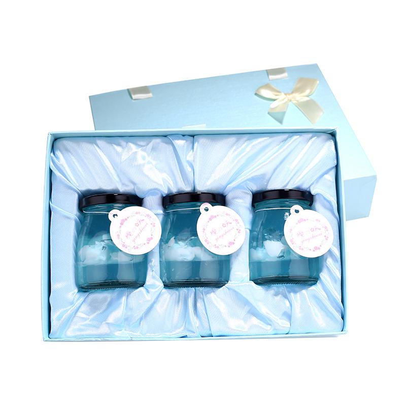 樱之味海洋果冻3瓶装包邮新年圣诞情人节生日礼物蓝天布丁樱花