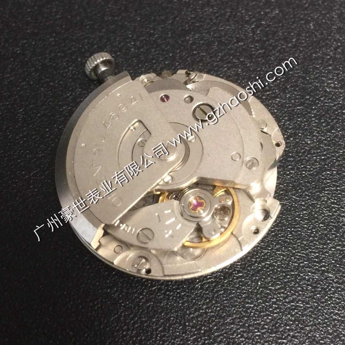 男款手表配件表芯零部件原装机械白机 46943 机芯日本双狮表 46941