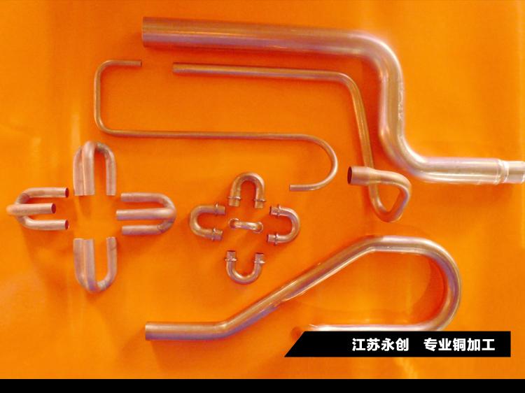 铜管铜棒加工盘弯弯管折弯冷却管回流罐订做定制