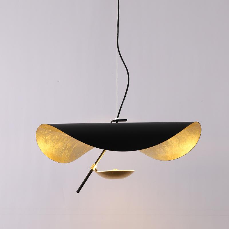 书房复古艺术个性创意飞碟吊灯