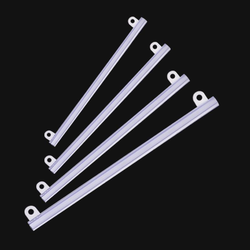 多销宝优质吊旗杆PVC挂画轴吊旗海报卡边条海报夹子吊旗杆子60cm