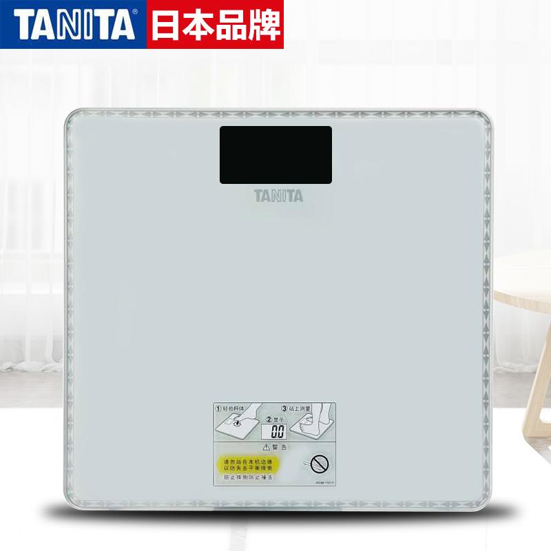 日本百利達TANITA電子秤家用體重秤電子稱人體秤健康秤精準HD-380