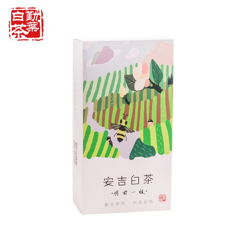 袋装珍稀白茶高山绿茶特级茶叶春茶 125g 新茶明前一级安吉白茶 2018